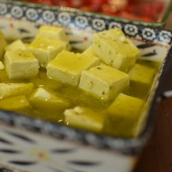 CHEESE IN OLIVE OIL WITH BOUQUET OF SPICES